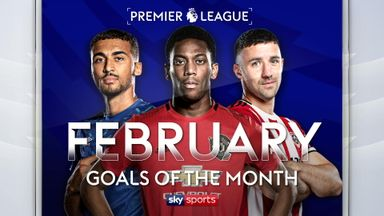 PL Goals of the Month: February