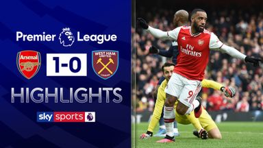 Lacazette strikes late for Arsenal