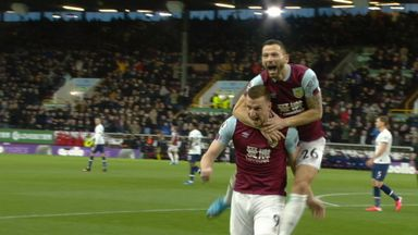 Wood fires Burnley into the lead! (13)