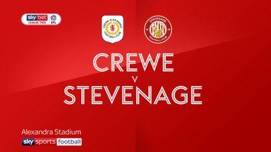 Crewe 3-1 Stevenage