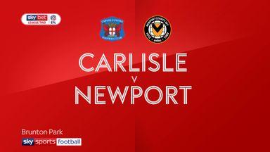 Carlisle 2-0 Newport