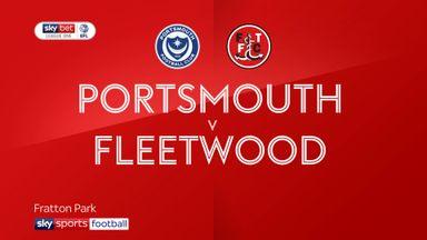 Portsmouth 2-2 Fleetwood