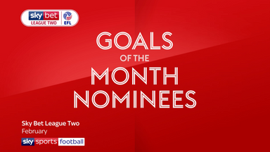 League Two Goal of the Month - February
