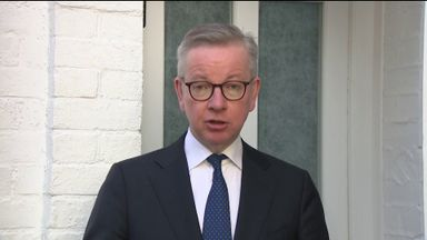 Gove: Length of lockdown not fixed