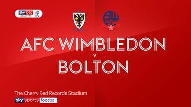AFC Wimbledon 0-0 Bolton