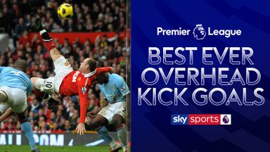 Best ever Premier League overhead kicks