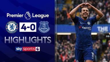 Chelsea thrash Everton at Stamford Bridge