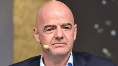 Infantino: We can't rush football back