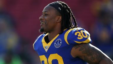 Why did the LA Rams release Gurley?