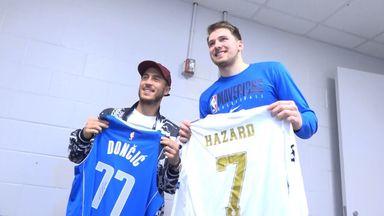 Hazard meets Doncic