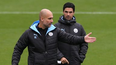 Arteta: Man City deserves to be back in CL