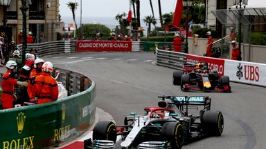 Why was the Monaco GP cancelled?