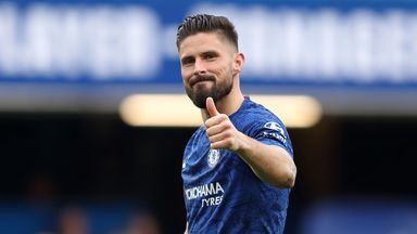 'Happy' Giroud unsure over Chelsea future