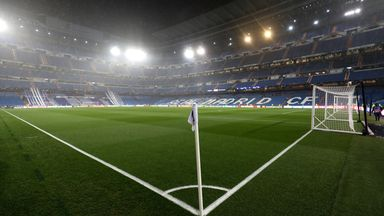 Real won't play at Bernabeu when season resumes