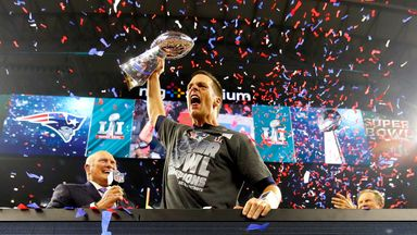 Brady's Super Bowl magic moments