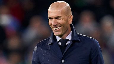 Zidane: Practice is good, but playing is better!