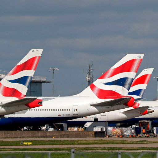 British Airways pilots to take 50% pay cut in April and May