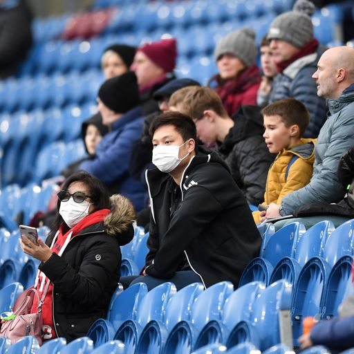 LIVE: Virus latest - Champions League game to be held without fans