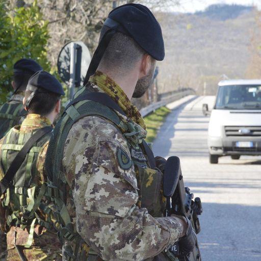 Coronavirus: Army to enforce lockdown in Italy's worst-hit region