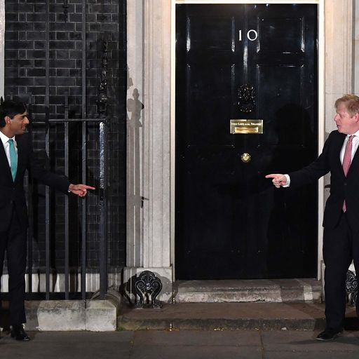 Who did the PM meet before testing positive for coronavirus?