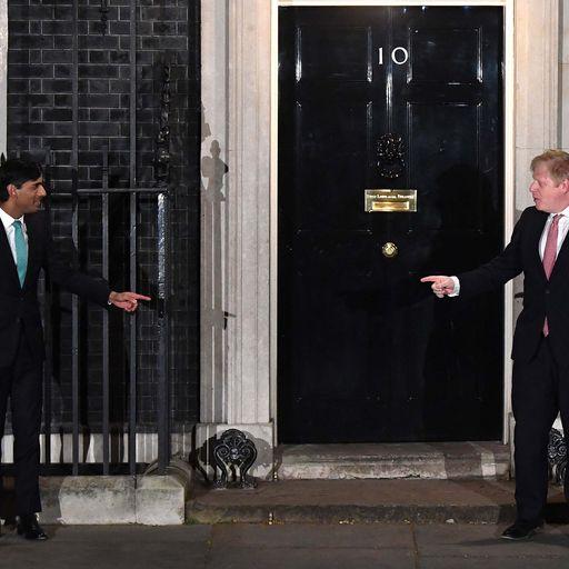 Who did PM meet before catching coronavirus?