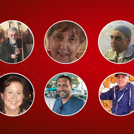 Pictured: UK patients who have died after contracting COVID-19
