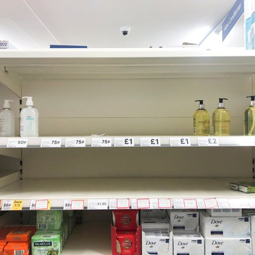 Coronavirus: Tesco, Asda and Ocado ration products as shoppers stockpile