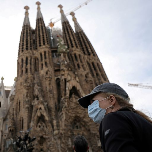 UK tourists told to leave Spain as all hotels shut