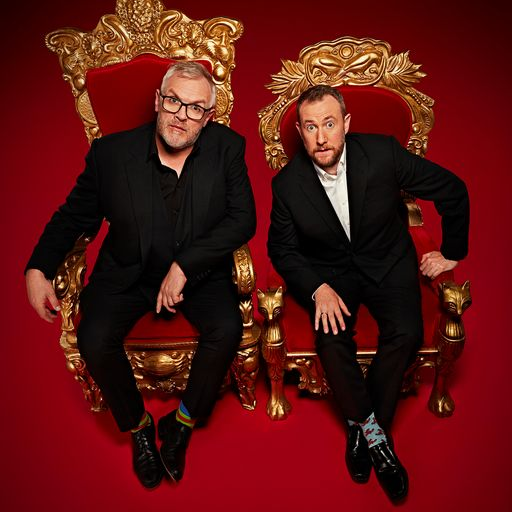 Alex Horne and Greg Davies are Hometasking the nation through lockdown