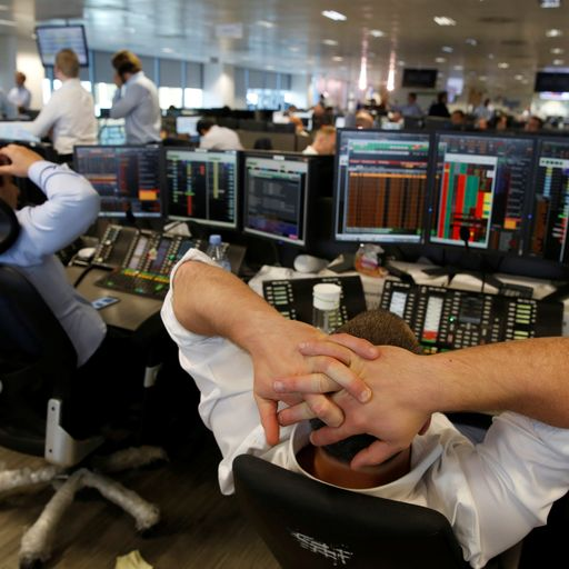 FTSE falls in another day of virus-related turmoil