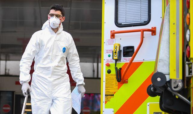 Coronavirus: Boris Johnson under pressure over lack of protective gear for NHS staff