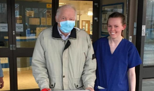 Coronavirus: Grandfather, 87, beats COVID-19 as his family thank NHS