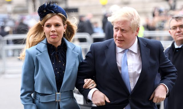 Coronavirus: Boris Johnson's pregnant fiancee Carrie Symonds has had symptoms of coronavirus