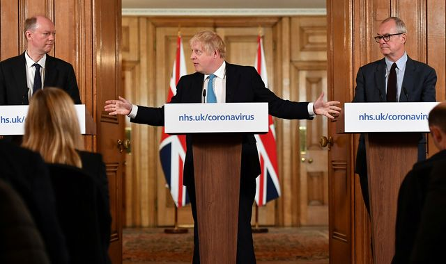 Coronavirus: UK's initial COVID-19 plan would have been 'catastrophic', says Donald Trump