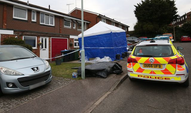 Murder investigation as three die in Hemel Hempstead house fire