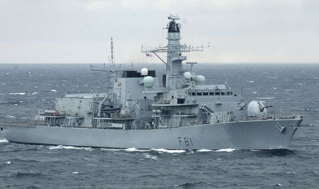 Royal Navy shadows Russian warships after 'unusually high levels of activity' in Channel and North Sea