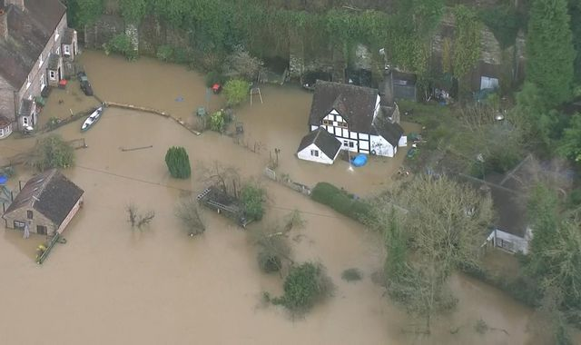 'Record investment' for 'shovel-ready' flood defence projects in England