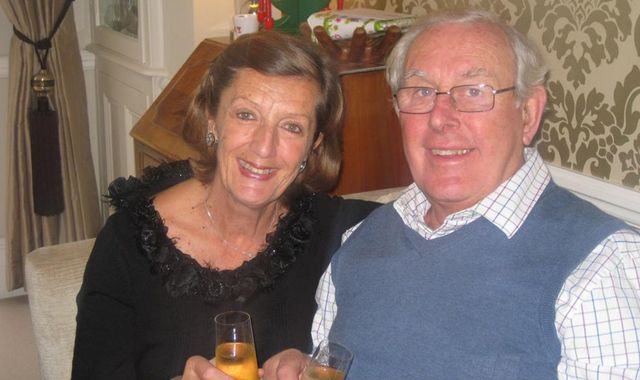Coronavirus: Elderly couple stuck on virus-hit cruise ship 'just want fresh air'