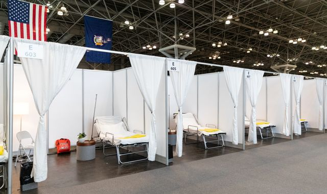 Coronavirus: Donald Trump signs $2.2trn relief bill as New York pleads for hospital beds