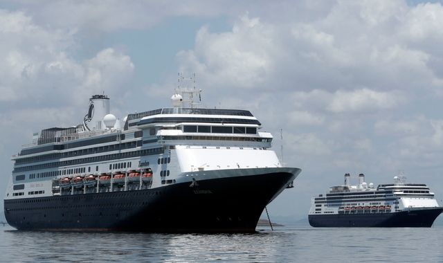 Coronavirus: Briton among four dead on coronavirus-hit cruise ship that countries won't let dock