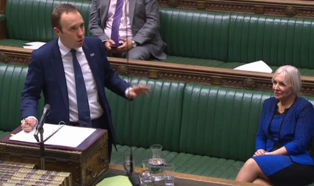 Coronavirus: Nadine Dorries applauded as she returns to Commons after COVID-19 recovery