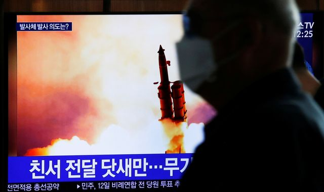 Korea fires at least 1 unidentified projectile: JCS