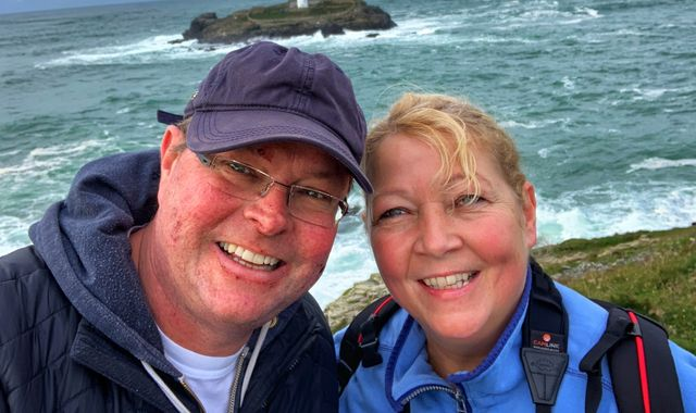 Coronavirus: Man with terminal cancer begs Britons to respect lockdown so he can hug wife before he dies