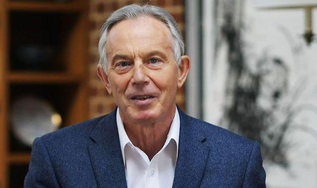 Coronavirus: Tony Blair says 'virtually everybody' in UK may have to be tested