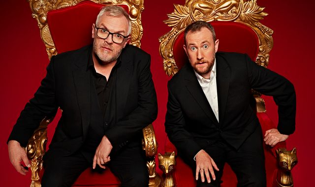 Coronavirus: Alex Horne and Greg Davies are Hometasking the nation through lockdown boredom