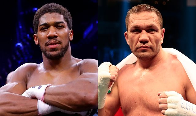 Anthony Joshua's world title defence against Kubrat Pulev in June has been postponed