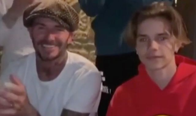 Clap for our Carers: David Beckham and sports stars in tribute to NHS workers fighting coronavirus