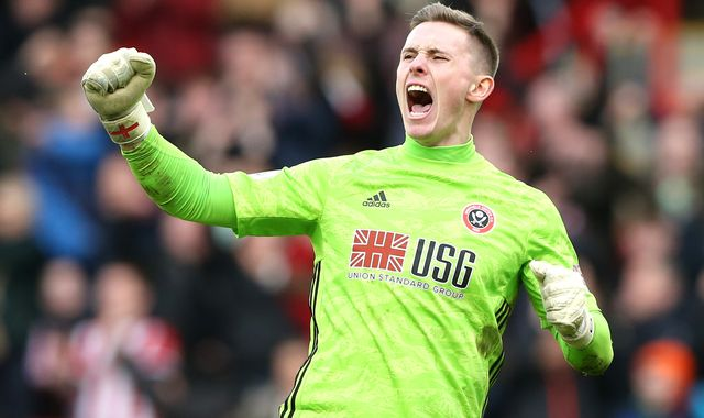 Sheffield United extend Dean Henderson loan from Manchester United until end of season