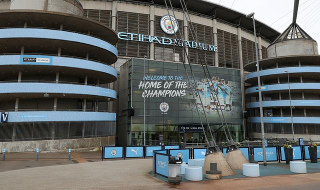 Manchester City's Eithad Stadium to be used by NHS