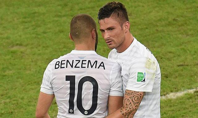 Olivier Giroud mocked by Karim Benzema in astonishing jibe
